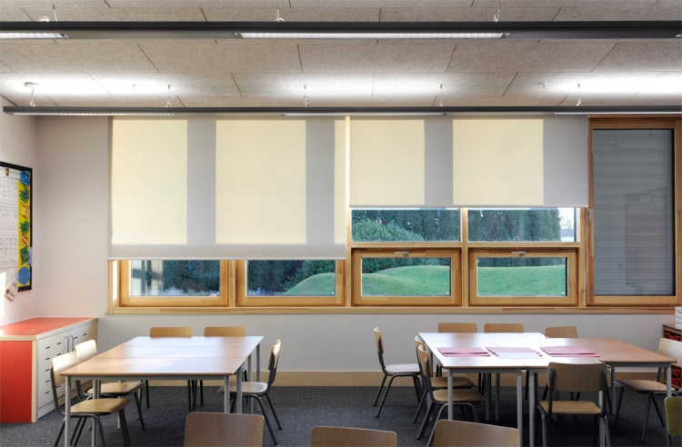 Wilkinson Primary School (Passive House certified) Photo: Juraj Mikurcik / Architype UK